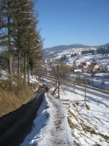 Bij gebrek aan sneeuw: wandelen
