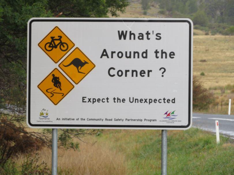 What's around the corner?